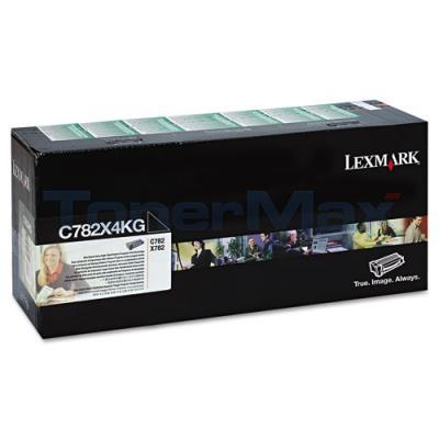 LEXMARK C782 TONER CARTRIDGE BLACK RP XHY TAA
